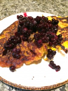 They might be ugly, but my plantain pancakes are one of my favorite foods at the moment.